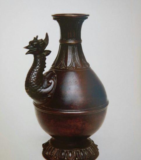 古銅鷁首布薩型水瓶 [室町.初]